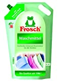 Frosch Flüssig Waschmittel, 5er Pack (5 x 18 Waschladungen)