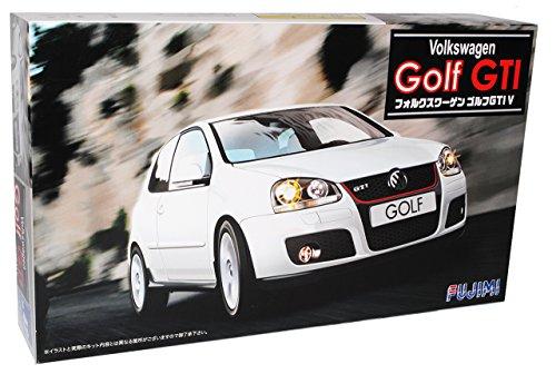 Fujimi Volkwagen Golf V 5 GTI Weiss Bausatz Kit 1/24 Modellauto Modell Auto