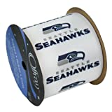 Zipperstop SEATTLE SEAHAWKS RIBBON-SEATTLE SEAHAWKS HAIRBOW RIBBON, CRAFTING RIBBON, GIFT WRAP RIBBON-2 1/2
