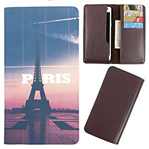 DooDa - For HTC One E8 PU Leather Designer Fashionable Fancy Case Cover Pouch With Card & Cash Slots & Smooth Inner Velvet