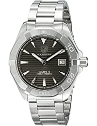 Tag Heuer way2113. ba0910 Stainless Steel Watch For Men, strap – Silver