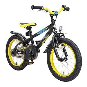 519KnBBzkZL. SS300 BIKESTAR Bicicletta Bambini 4-5 Anni da 16 Pollici Bici per Bambino et Bambina Mountainbike con Freno a retropedale et…