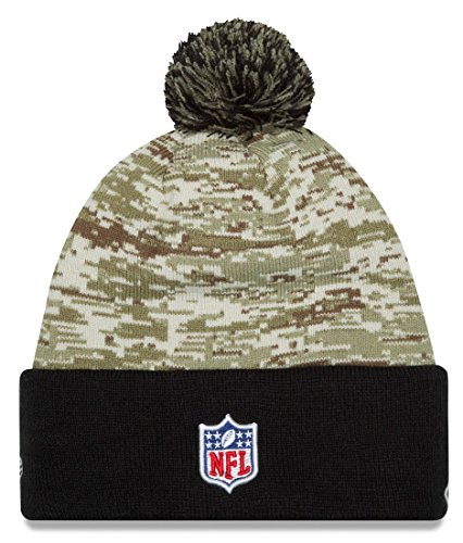 "New Orleans Saints New Era 2015 NFL Sideline ""Salute to Service"" Sport Knit Hat Hut - 3"