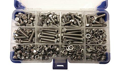 Ahc K-10059 - De acero inoxidable tornillos de fijación hexagonales m6 con...