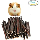 200g Pet Snacks Organic Apple Sticks Bonus For Squirrel Rabbits Guinea Pigs Chinchilla Rabbits Parrot Bird And Other Small Animals Chew Toys