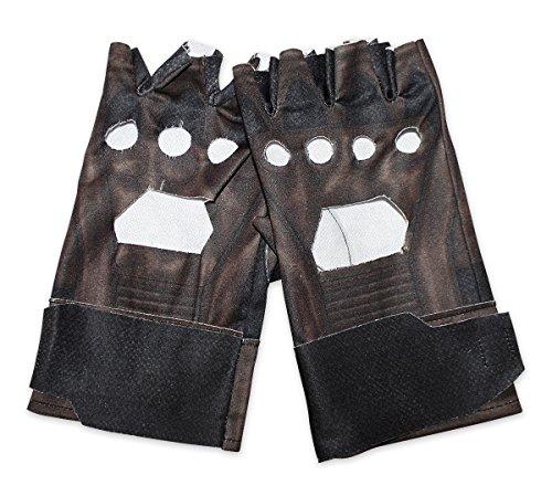 Captain America Retro Handschuhe im Lederlook