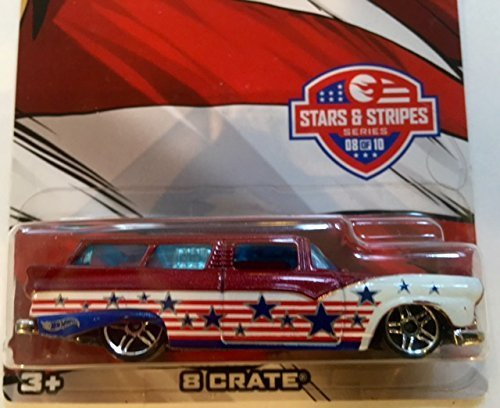 2016 Hot Wheels Stars & Stripes 8 Crate #8 Mattel Limited Edition Collectible by Hot Wheels