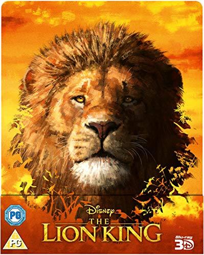 Der König der Löwen - The Lion King, Zavvi exklusiv, Neuverfilmung, Steelbook, Blu-ray 3D mit deutschem Ton + Blu-ray, Uncut, Regionfree