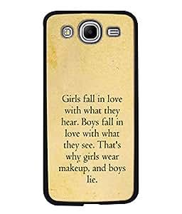 PrintVisa Designer Back Case Cover for Samsung Galaxy Mega 5.8 I9150 :: Samsung Galaxy Mega Duos 5.8 I9152 (See Make up)