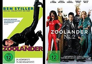 Zoolander 1+2 im Set - Deutsche Originalware [2 DVDs]