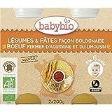 Babybio pot légumes pates facon bolognaise 6 mois 2 x 200g - ( Prix Unitaire ) - Envoi Rapide Et Soignée