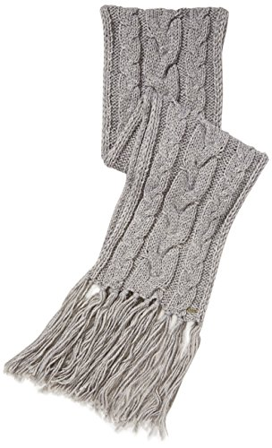 BOSS Orange Nosane - Echarpe - Uni - Femme Gris (Medium Grey)
