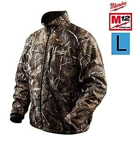 Veste chauffante MILWAUKEE camouflage avec batterie et chargeur - taille L M12 HJ-CAMO 21 4933427438