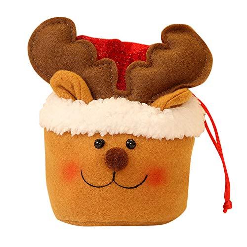 OVINEE Weihnachtsdekoration, Beutel für Süßigkeiten, Geschenktüten, Anhänger, Schrank, Tür, Decke, Dekoration, im Freien, Garten (Halloween Decoraciones Jardin)