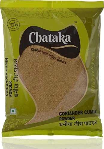 Chataka Coriander Cumin Powder - Dhaniya Jeera Powder (400 GM)  available at amazon for Rs.159