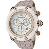 Glam Rock Women's GR10169 Miami Collection Chronograph Pink Leather Watch