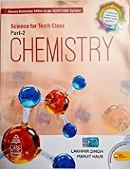 Science for Class 10 Part-2 Chemistry by Lakhmir Singh (2021-2022 Examination)