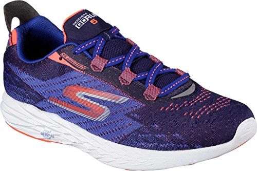 Skechers Go Run 5, Chaussures Multisport Outdoor Homme blue
