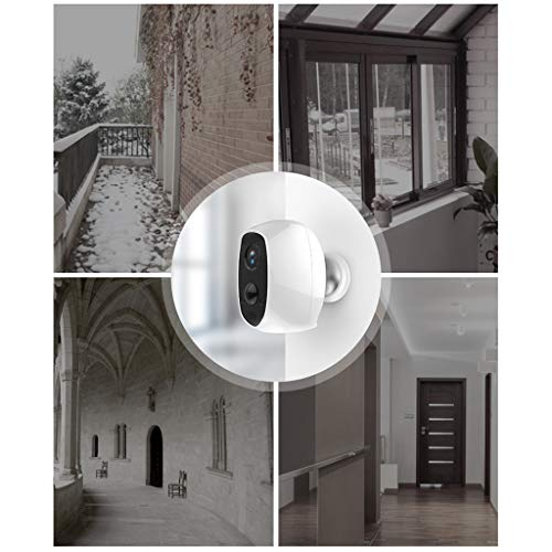 Full wireless battery home mobile phone HD 1080P surveillance camera night vision monitor - 128GB