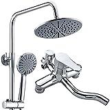 NewBorn Faucet Rubinetti di acqua calda e acqua fredda di grande qualità i rubinetti in ottone tre docce di acqua regolare la pressione dell'aria Soffione per doccia