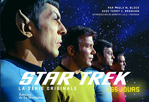 Star Trek : 365 : la série originale par Paula M. Block
