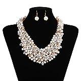 X & Y ANGEL Collar de perlas modelo Chunky