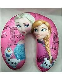 Home Bargain : Frozen U-shape Neck Pillow Cartoon Plush Pillow Cartoon Travel Relax Pillow