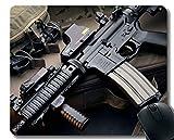 Yanteng Su Propio tapete Personalizado, M4 Carabina de Asalto Rifle de Goma Base de Goma Alfombrillas de ratón