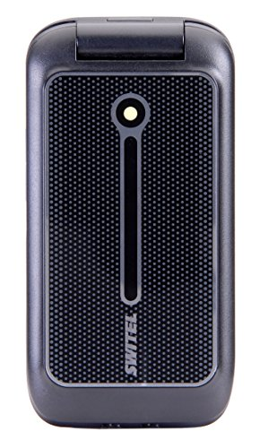 Switel M210 Senioren Mobiltelefon mit Tischladeschale, Notruftaste, Amplifikation, Hörgerätekompatibel