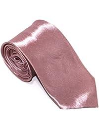 "Robelli Men's Classic 3"" Wide Satin Tie - Various Colours"