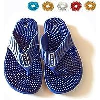 Preisvergleich für Akupressur Magnet Health Care Fuß Massagegerät Reflexologie (Schuhe) Sandalen (US 6.5/Euro 39/aus 6.0)