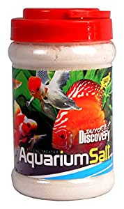 TAIYO PLUSS DISCOVERY® Aquarium Salt, Medicated Salt, Suitable for All Fresh Water Fishes, Prevention for All Bacteria Diseases (840 Gram)