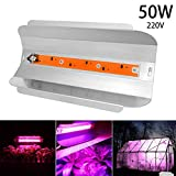 Outgeek Plant Grow Light 30/50/80W COB LED Plant Light Growing Lamp for Indoor