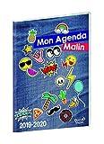 Quo Vadis Mon agenda malin SEMAINIER CM1-CM2 Agenda scolaire Semainier 21x29,7cm Bleu Année 2019-2020
