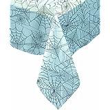 Mantel de plástico tela de araña Halloween