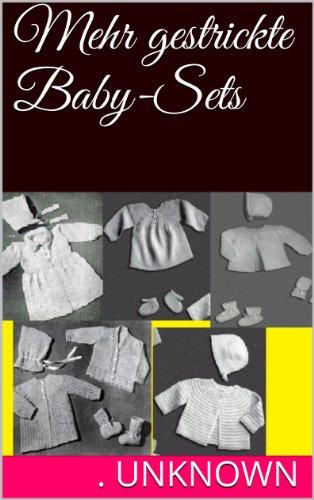 Mehr gestrickte Baby-Sets