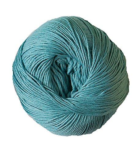 DMC Natura - Ovillo, 100% algodón, Aguamarina N25