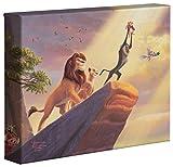 Thomas Kinkade The Lion King–Disney 20,3x 25,4cm Galerie