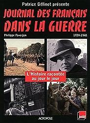 JOURNAL DES FRANCAIS DS GUERRE