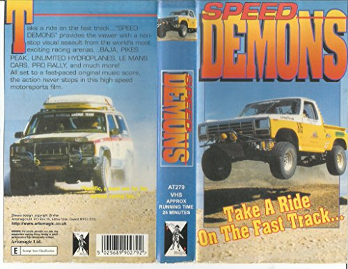 Image of Speed Demons - Take a Ride on the Fast Track... [VHS]