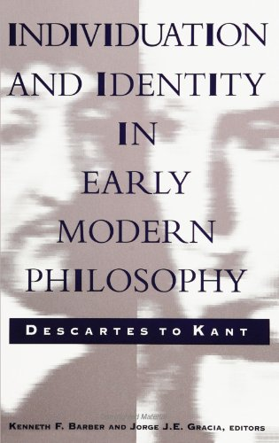 Individuation and Identi: Descartes to Kant
