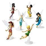 Disney Fairies 6-pc. Figure Set, Tinker Bell, Periwinkle, Iridessa, Rosetta, Silvermist and Vidia by Disney