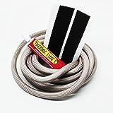Cheminée Joint creux Cordon Kit de joint + Colle & abbinder adapté pour Justus et oranier Cheminée 3m, Ø 9,5mm