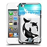 Head Case Designs Orca Meerestiere Ruckseite Hülle für Apple iPod Touch 4G 4th Gen