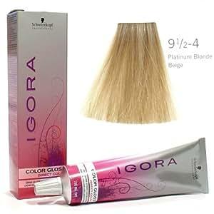 Schwarzkopf IGORA Color Gloss Platinblond Beige 9,5-4 100ml