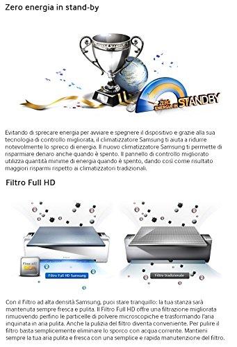 comprare on line Condizionatore/Climatizzatore INVERTER 12000BTU Samsung Maldives - AR12KSFPEWQ (Cod.:4310) prezzo