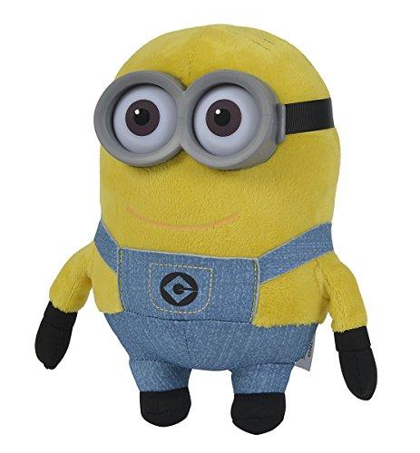 Simba 6305873681 - Minions Plüsch Dave 25 cm gelb