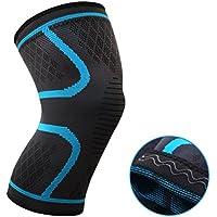 oxoxo med Leichte Kniebandage mit ergonomischer Passform durch 3D-Stricktechnik – kein Verrutschen dank Silikon-Wellen... preisvergleich bei billige-tabletten.eu