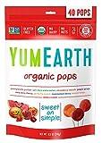 Yummy Earth Lollipop Assorted Organic 40 Pops 8.5 oz (241g) 1 Bag