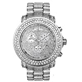 Joe Rodeo Diamond Men's Watch - JUNIOR silver 19.25 ctw